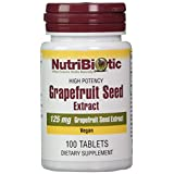 NutriBiotic Grapefuit seed extract 100 Count