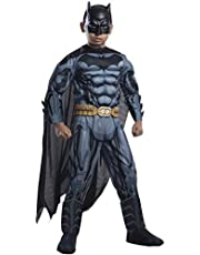 Rubie's Costume DC Superheroes Batman Child Deluxe Costume