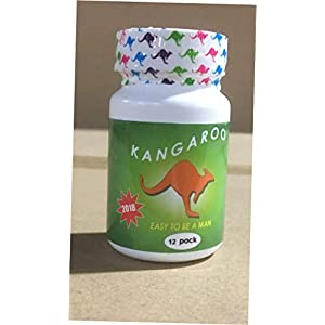 Kangaaroo, Men Male Enlargement, Enlarger, Enhancement, Enhancer, More Volume, Long Erection 12 Pills