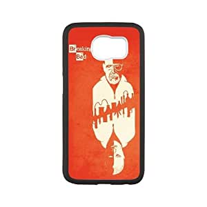 Breaking Bad Card Vector Samsung Galaxy S6 Cell Phone Case White Exquisite gift (SA_591150)