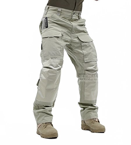ZAPT Tactical Molle Ripstop Combat Trousers Army Multicam...
