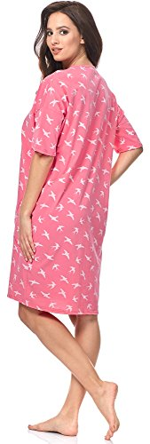 Bianco Italian Notte CL24 Camicia Fashion da 0114 Rosa Donna IF v7nPSvwq