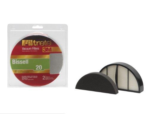 3M Filtrete Bissell 20 (PROlite) Vacuum Filter, 1 - Inc Pro-lite