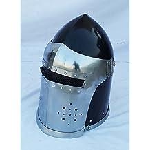 Medieval Barbute Helme Armour Helmet Roman knight helmets Armor Helmet Greek Barbute by historicalmuseumstore