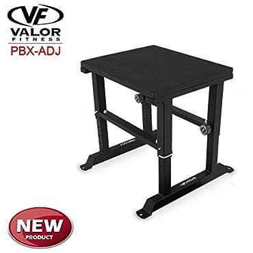 Valor Fitness Adjustable Plyobox