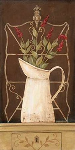 Posterazzi Herb Finial Poster Print by Jo Moulton (24 x 48)