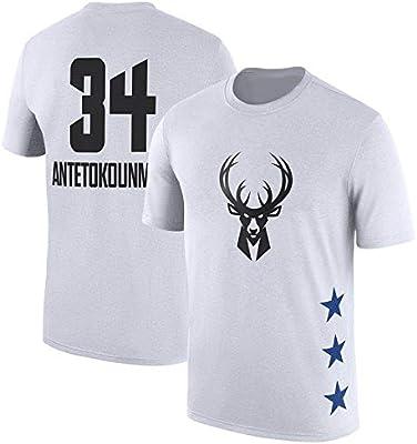 Jersey De La NBA Milwaukee Bucks Giannis Antetokounmpo Verano ...