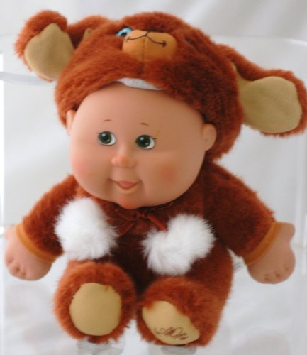 Cabbage Patch Costume For Baby (Cabbage Patch Kids Babies Snugglies 25th Anniversary - Puppy Dog)