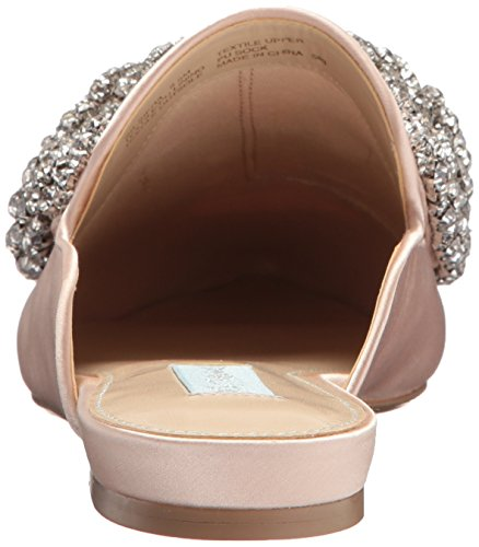 Champagner Sb Frauen Blue Loafer Siera by Betsey Satin Johnson pw0qpIB7x