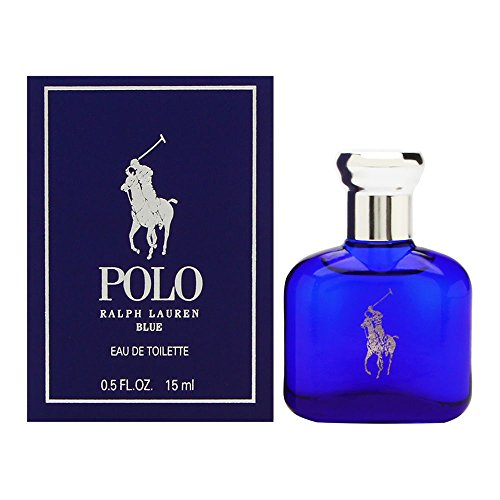 0.5 Ounce Cologne Splash (Ralph Lauren Polo Blue Eau de Toilette Splash/Dab-On, 0.5 Ounce)