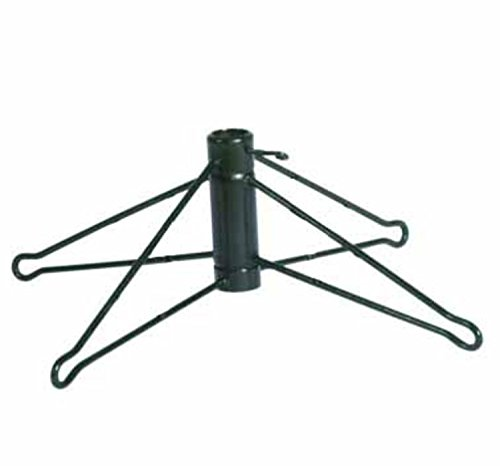 Vickerman Green Metal Christmas Tree Stand for Artificial...