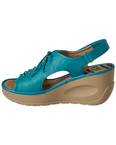 862 Leather Fly Jart Verdigris Womens London Sandals q0xItxU