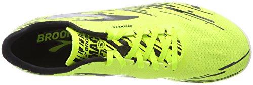 Brooks Men's Mach 18 Running Shoes Yellow (Nightlife/Brooksbriteblue/Blac 1d739) 15jQmXSivi