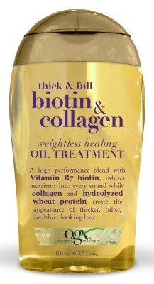 Ogx Biotin & Collagen Oil Treatment 3.3 Ounce Weightless (97ml) (3 Pack)