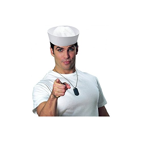 White Sailor Hat Costume Accessory - coolthings.us
