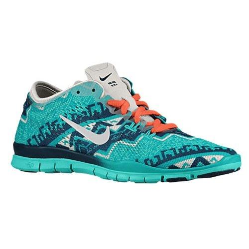 Nike Women's Free 5.0 Tr Fit 4 Print Running Shoe