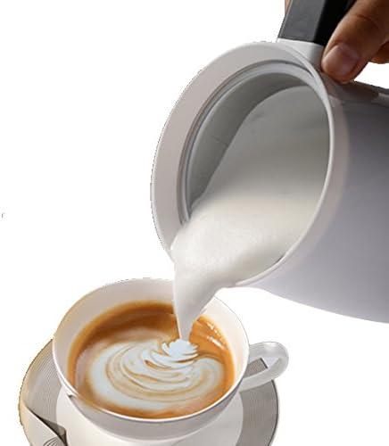 Cappuccinatore Montalatte Elettrico Automatico - Schiumatore - Scalda Latte - Milk Frother - Schiuma Veloce Calda E Fredda Per Caffè, Latte E Cappuccino