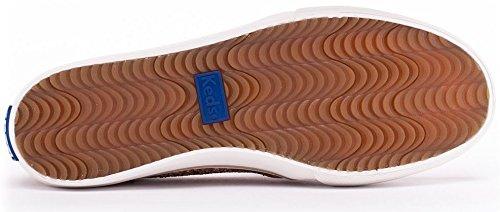 Keds, Sneaker donna, Glitter - Oro, 40.5