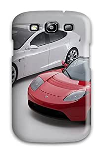 Cassandra Craine's Shop Best Tpu Case Cover For Galaxy S3 Strong Protect Case - Tesla Model S 23 Design 7305011K42956564