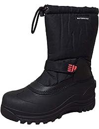 Climate X Mens Ysc5 Snow Boot,Black,8.5, Black, Size 8.5