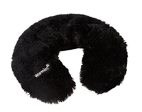 Warmies® Neck Warmer schwarz mit Lavendelduft - herausnehmbare Füllung