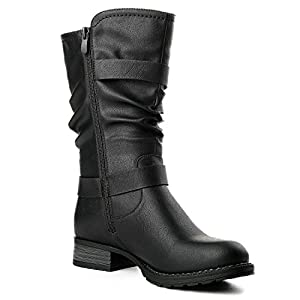 GLOBALWIN GLBALWIN Women's 17YY10 Black Fashion boots7M