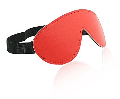 Halloween cosplay Masquerade BDSM flirting Role play Adult passion Stage performance of leather patch Bars nightclubs eye mask (Passion Nightclub Halloween)