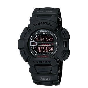 41pF2N41JvL. SS300  - Casio G-Shock G9000MS-1CR Men's Military Black Resin Sport Watch