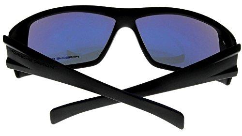 3b7d74ed956 Porsche Design Sunglasses Black Matte Mens P8503 A Wrap - Buy Online ...