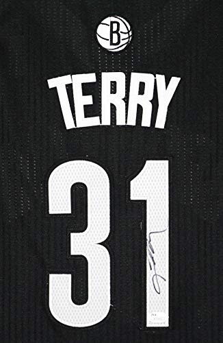 Jason Terry Brooklyn Nets Signed Autographed Black #31 Jersey JSA COA