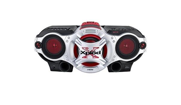Sony CFD-G700CP 50W Negro, Rojo, Plata sistema de audio para el hogar: Amazon.es: Electrónica