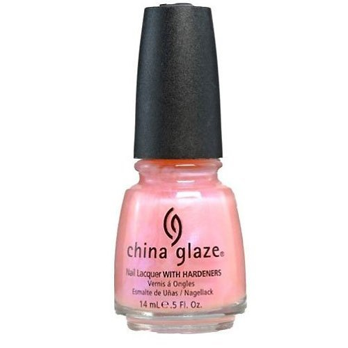 CHINA GLAZE NAIL POLISH LACQUER WITH HARDENERS #Afterglow ()