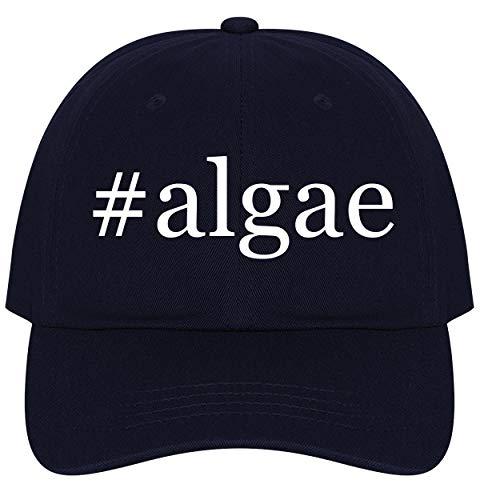 (The Town Butler #Algae - A Nice Comfortable Adjustable Hashtag Dad Hat Cap, Navy)