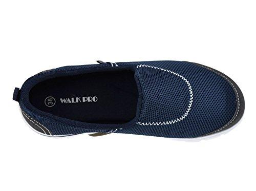 casual da in scarpe memory per camminare stile Pro correre ginnastica Walk Navy donna palestra per EzFY5qw