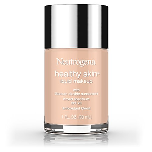 Neutrogena Healthy Skin Liquid Makeup Foundation, Broad Spectrum Spf 20, 80 Medium Beige, 1 Oz.