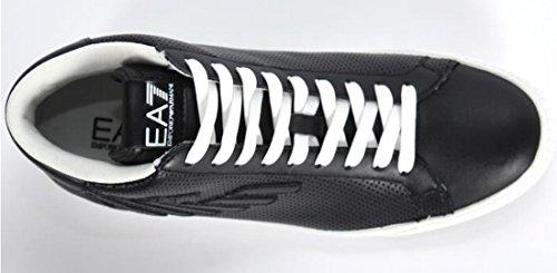2780446P29900020 Armani Emporio Sneakers Hombre Piel Negro negro