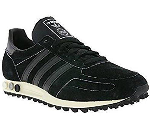 adidas Originals LA Trainer OG, core black-core black-off white, 4