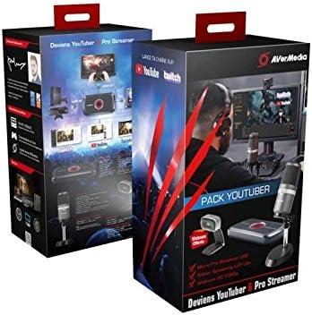 Avermedia Pack Youuber/Pro Streamer: Amazon.es: Electrónica