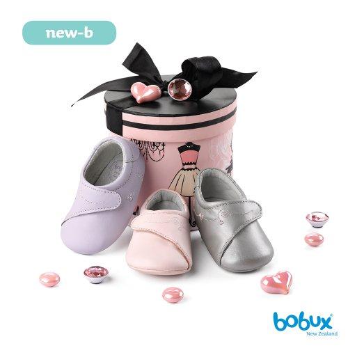 Bobux Chaussure Bébé - New-B Babydoll Argent - 15 EU