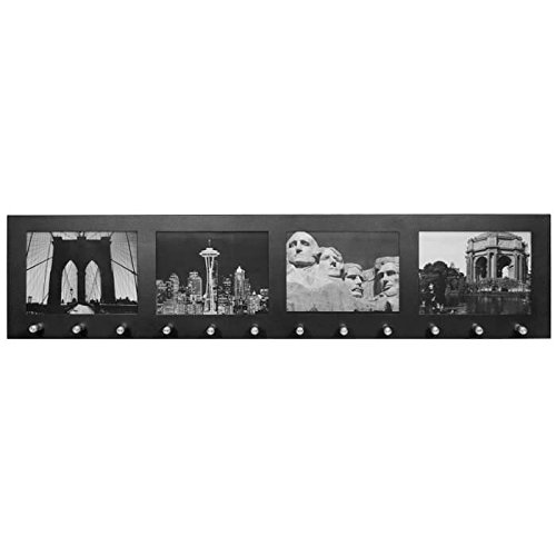 winbest Decorative Steel Photo Frame Wall Mounted Hanging Key Holder by winbest