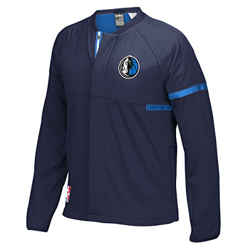 Dallas Mavericks Adidas 2016 NBA Men's On-Court Warm-Up Full Zip Jacket Adidas Nba Warm Up Jacket