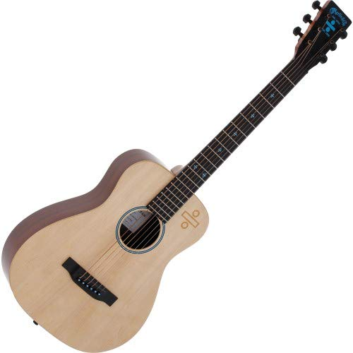 Martin Ed Sheeran 3 Divide Signature Edition Little Martin Acoustic-Electric Guitar Natural by Martin