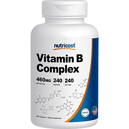 Nutricost Potency Vitamin Complex Capsules
