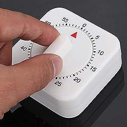Alarm Clock - 1 Hour Mechanical Cooking Desktop Game Countdown Timer Stop Alarm Clock - Zu Outlet Toddler School Can Dark Docking Off Hidden Nature