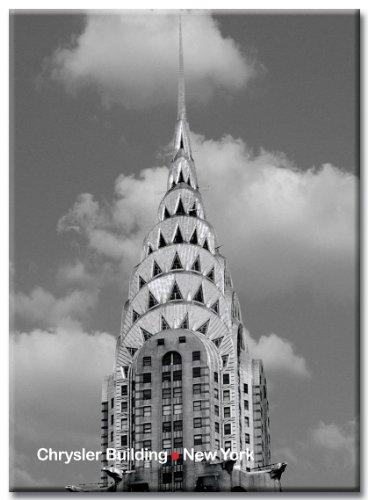Chrysler Building - New York City Photo Souvenir Refrigerator Magnet - NYC Fridge Magnets
