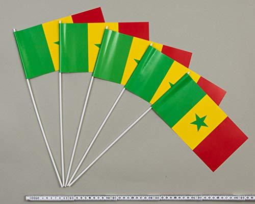 Everflag Papierfähnchen  Senegal 1000 Stück B00BHFGF3S | Hochwertig