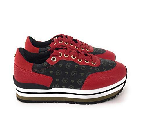 Pollini Donna rosso rosso rosso scarpe da ginnastica tapiro Nero Vit 8xR08rqU pinaripek  04cb96