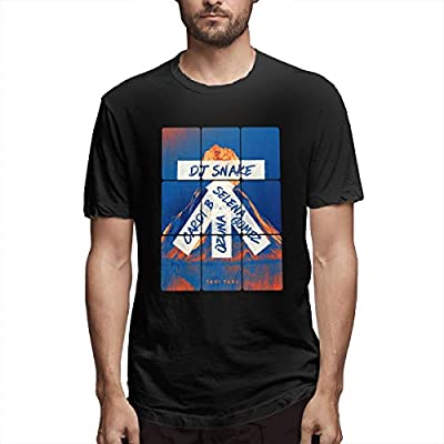 Troom Taki Taki DJ Snake Billboard Mens Leisue Tees Black Unisex