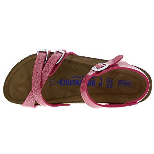 Birkenstock Womens Kumba Magic Galaxy Bright Rose Birko-Flor Sandals 37 EU