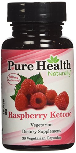 100% Pure Natural Red Raspberry Ketones, 30 weight loss